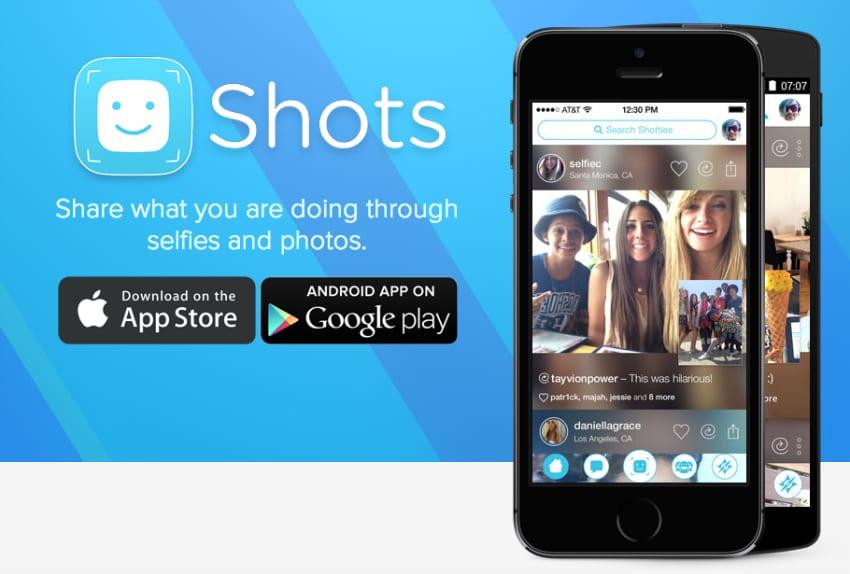 Shots, la nueva red social selfieadicta