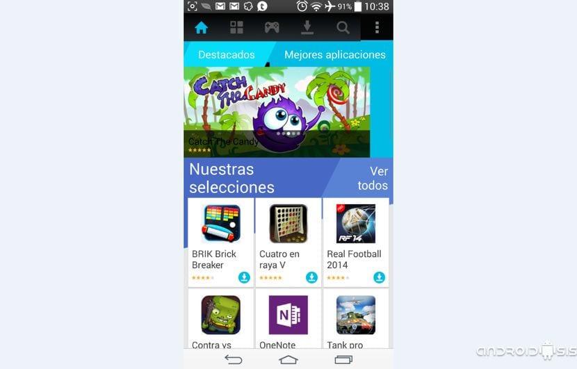 La tienda de aplicaciones de Nokia funcionando en cualquier Android 4.1 o superior