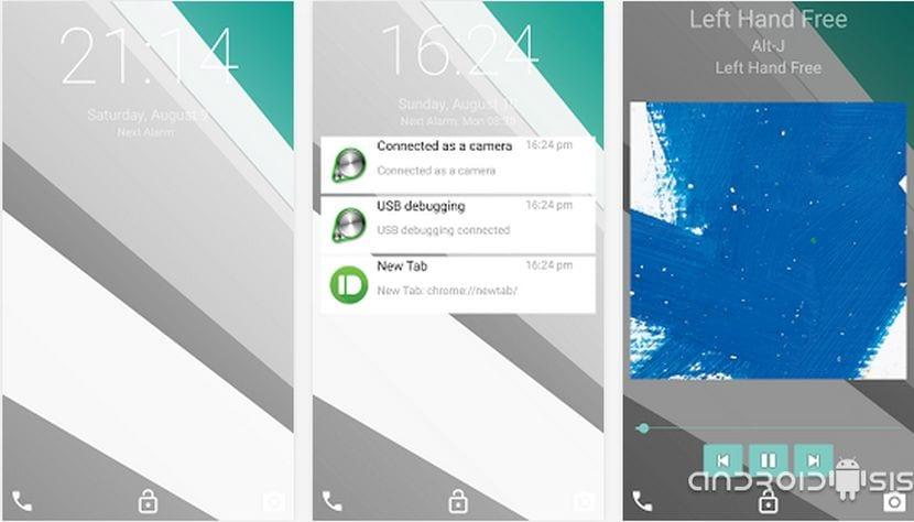 Ultimate Android L Lockscreen, la pantalla de bloqueo de Android L para todos los Android