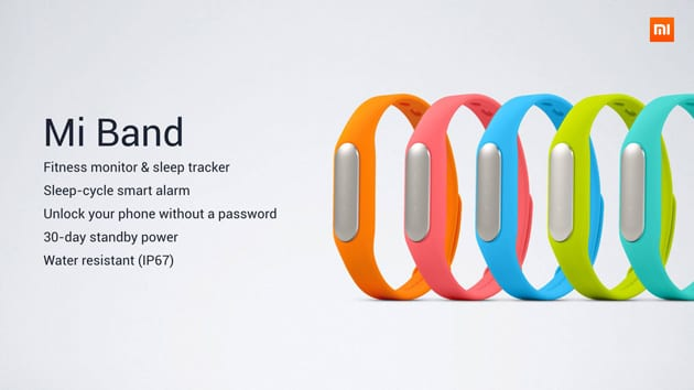 Wearable Mi Band