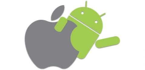 android y apple