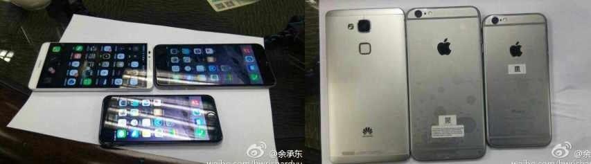 Huawei se burla del iPhone 6 Plus