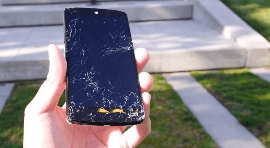 Nexus 5 con la pantalla rota