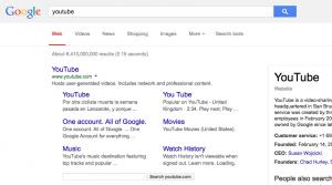 Experimento de Google muestra los resultados sin negritas