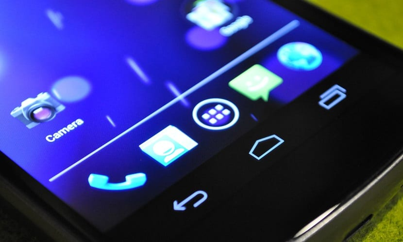Botón atrás Android
