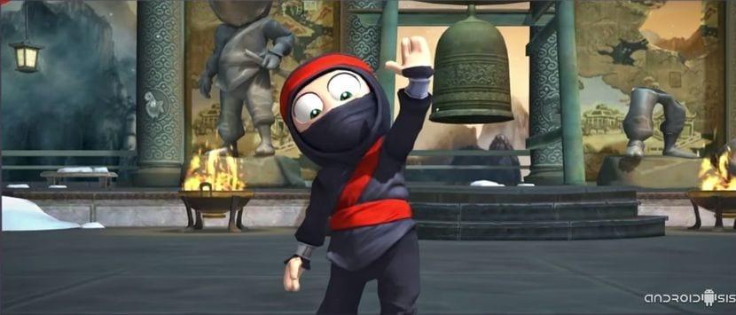 Clumsy Ninja, un asombroso juego para Android que te va a encantar