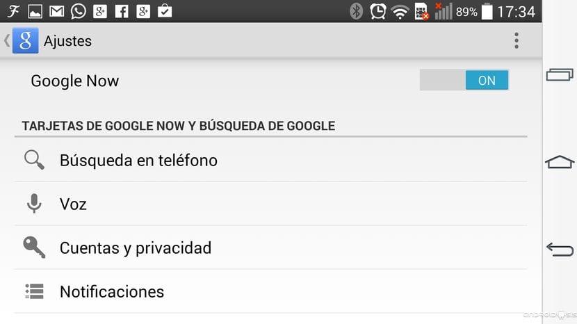 Google Now ya permite el comando de voz OK Google desde cualquier pantalla, incluso desde la pantalla de bloqueo
