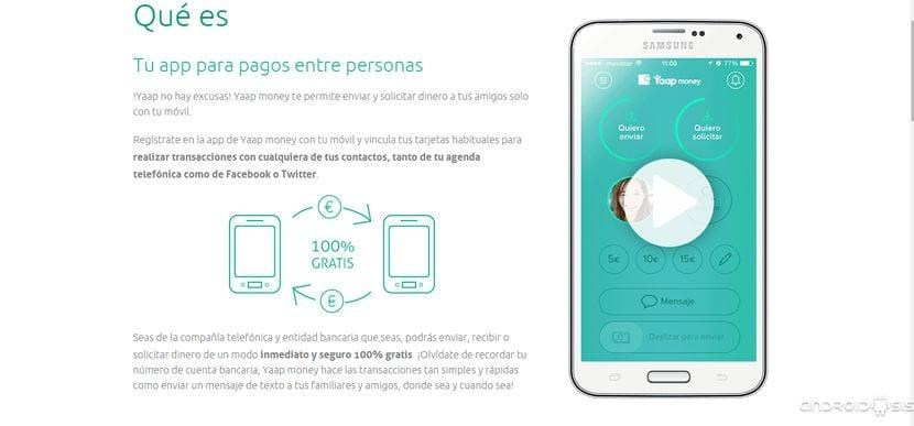 Enviar o recibir dinero en tu Android es muy fácil con Yaap money