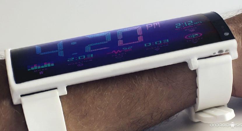 Fake Android: El increíble proyecto del smartphone flexible