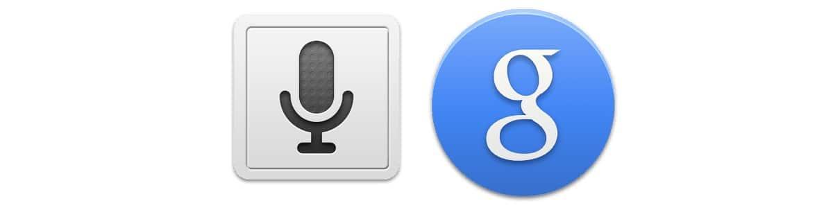 Búsqueda por voz yGoogle Now Launcher