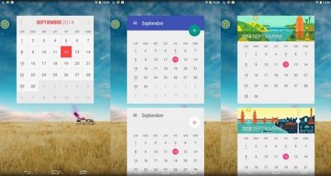 Month: Widget Calendar
