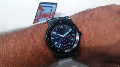 Probamos el LG G Watch R en el IFA14 de Berlín