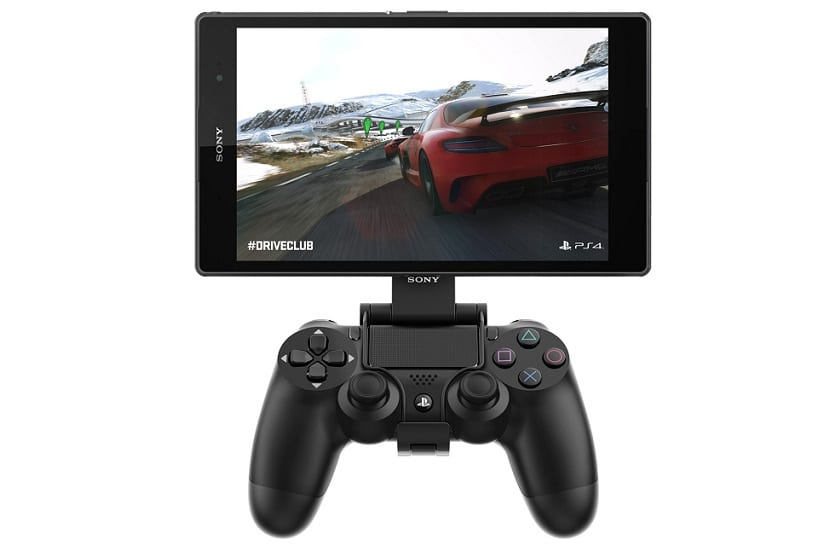 Z3 compact tablet ps4