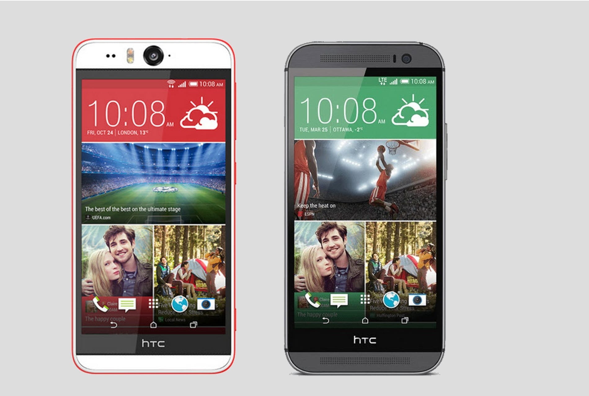 Comparativa HTC Desire EYE HTC One M8 (1)