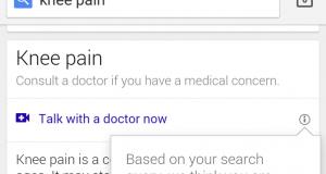 Google permitirá contactar con doctores