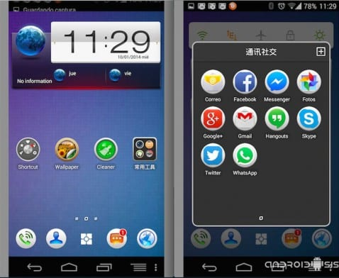 [APK] IdeaDesktop Launcher, el Launcher de Lenovo para todos los Android 4.0 o superior