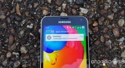 Android L en el Samsung Galaxy S5 [Vídeo]