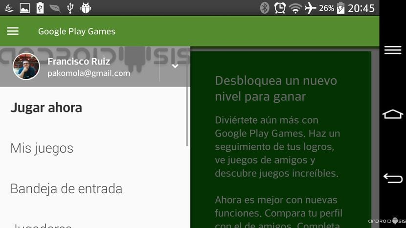 "[APK] Descarga e instala la nueva versión de Google Play Games Android 5.0 Lollipop ""Material Design"""
