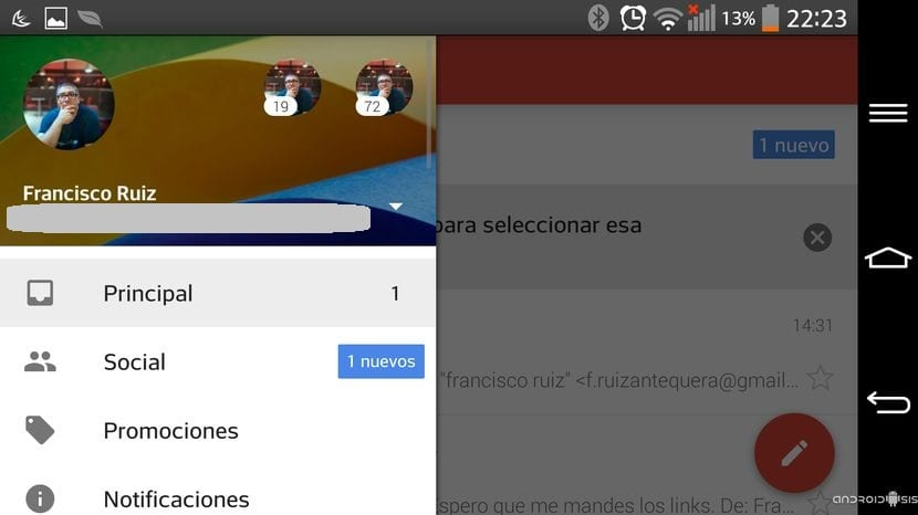 Descarga e instala Gmail 5.0 Material Design ROOT