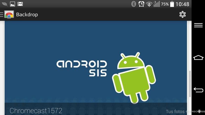 [APK] Instala la versión 1.8.22 de Chromecast con la opción de personalizar el fondo de pantalla