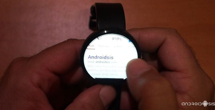 Aplicaciones imprescindibles para Android Wear: Hoy Wear Internet Browser