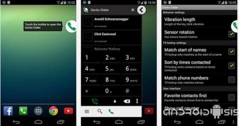 Aplicaciones increíbles para Android: Hoy Floating Dialer