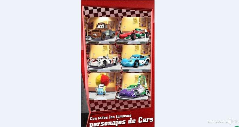 Cars: Rápidos como el Rayo disponible de manera gratuita en el Play Store