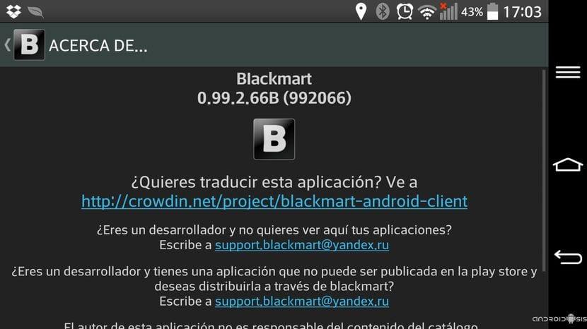 Descarga el auténtico Blackmart directamente en apk auto-actualizable