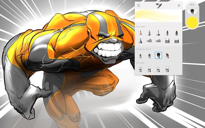 Dibujo Android Sketchbook