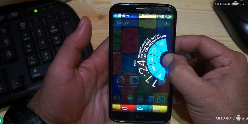 Habilita PIE Control y oculta la barra de navegación en tu LG G2 con este modulo Xposed
