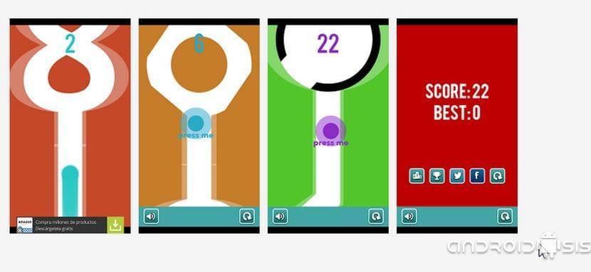 Juegos increíbles para Android: Hoy Line Crosser