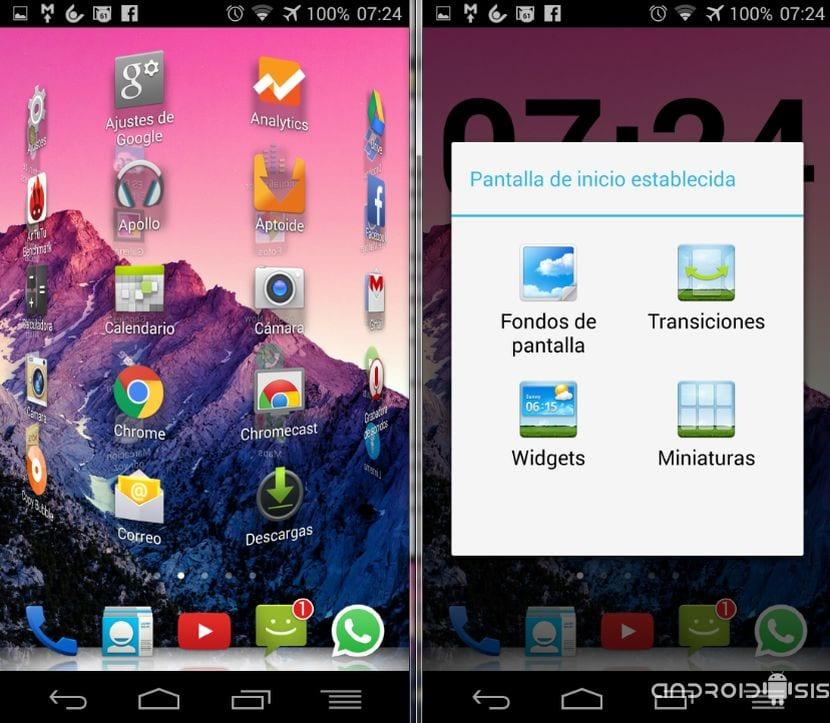 [APK] El Launcher de Huawei en cualquier Android 4.0 o superior