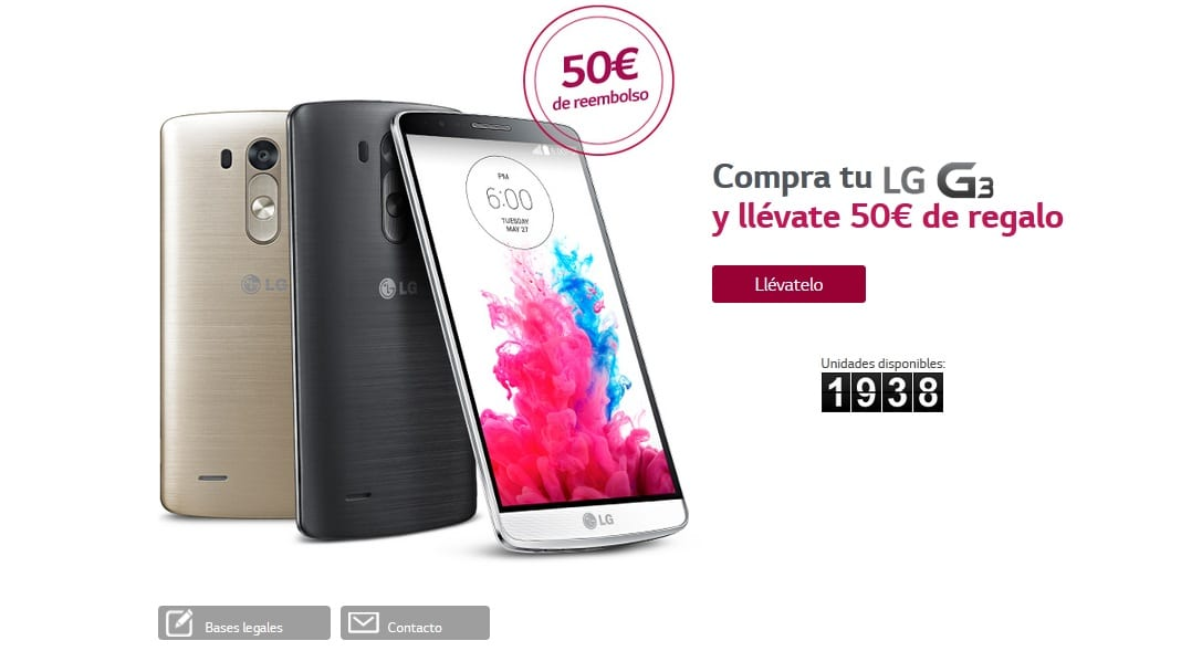 lg g3 50 euros