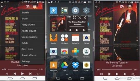 Aplicaciones increíbles para Android: Hoy MyPlayer un excelente reproductor de música para tu Android