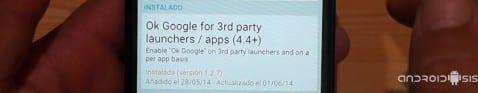 Los mejores módulos Xposed para tu Android: Hoy cómo activar OK Google desde cualquier Launcher Android, incluso los originales Samsung, HTC, Sony o LG