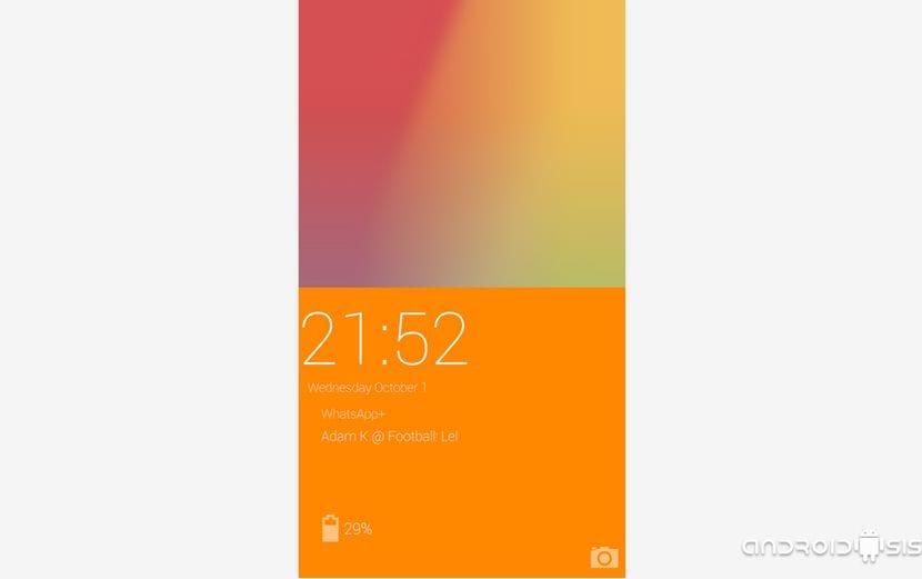 [APK] la pantalla de bloqueo del OnePlus One en cualquier Android con OnePlus Lockscreen
