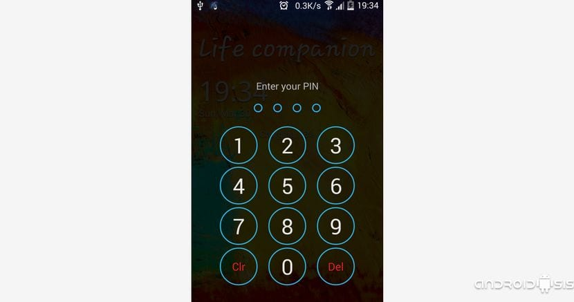 La pantalla de bloqueo del Samsung Galaxy Note 4 en tu Android