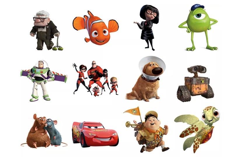Pixar Stickers