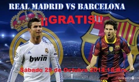 Cómo ver el Real Madrid vs FC Barcelona gratis (2014)