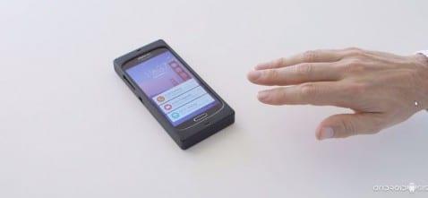 La tecnología de gestos ultrasónica el nuevo futuro de los terminales Android