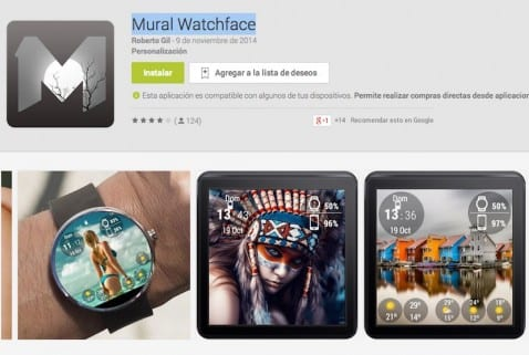 Mural Watchfaces