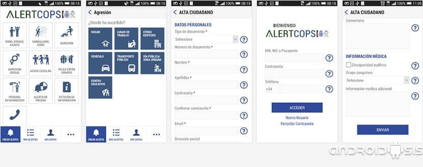 AlertsCops, para alertar de una emergencia directamente a las fuerzas de seguridad del estado