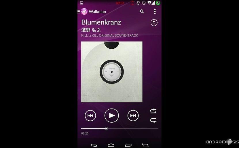Descarga e instala la última versión de la aplicación Walkman del Xperia Z3 en cualquier Android