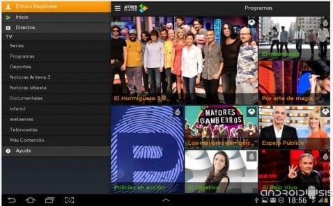 AtresPlayer, la televisión del futuro ya soporta Chormecast