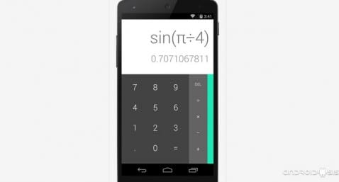 Descarga e instala la calculadora de Android Lollipop en cualquier android 4.3 o superior