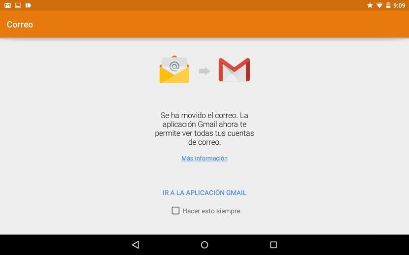 App correo