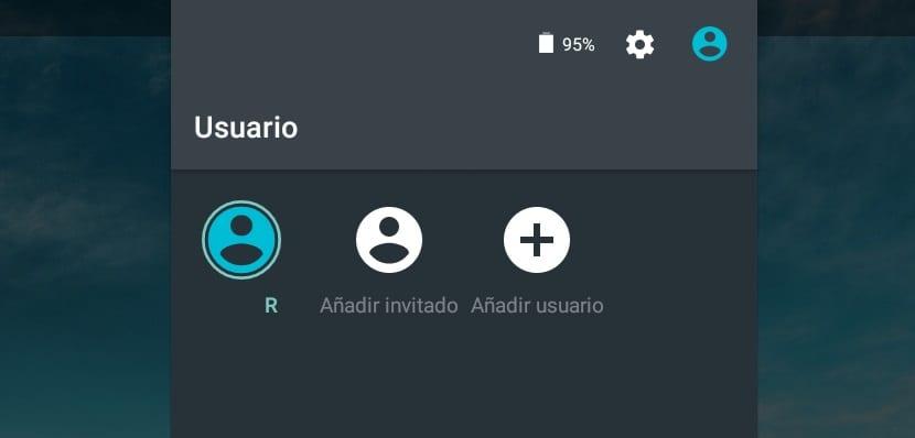 Cuentas de usuario Android 5.0 Lollipop
