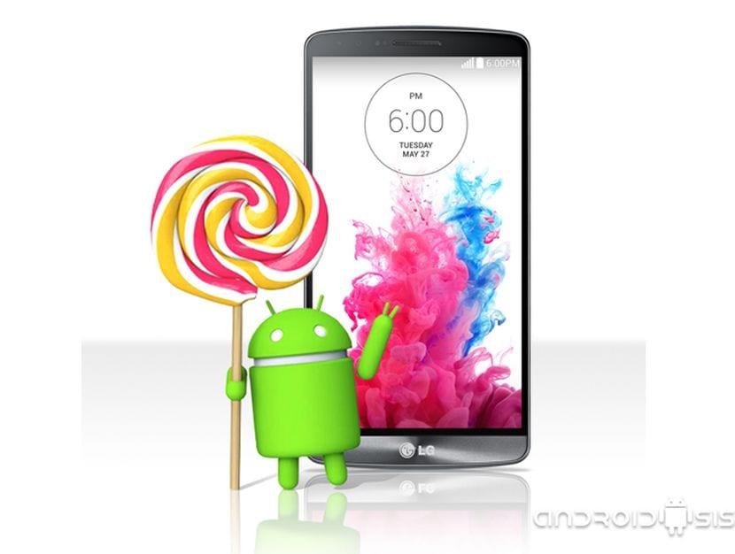 El LG G3 recibirá Android Lollipop la próxima semana