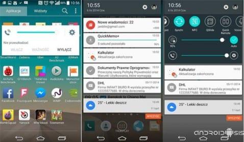 Las primeras imágenes de Android 5.0 Lollipop en el LG G3, ¡bonita manera de cargarse una actualización!