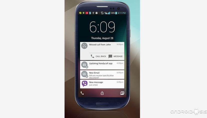 [APK] El LockScreen de Android Lollipop para Android 4.0 y superior